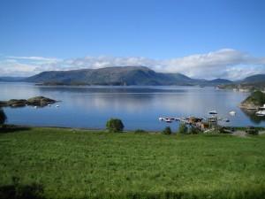 Ausblick auf dem Ferienhaus Norwegen