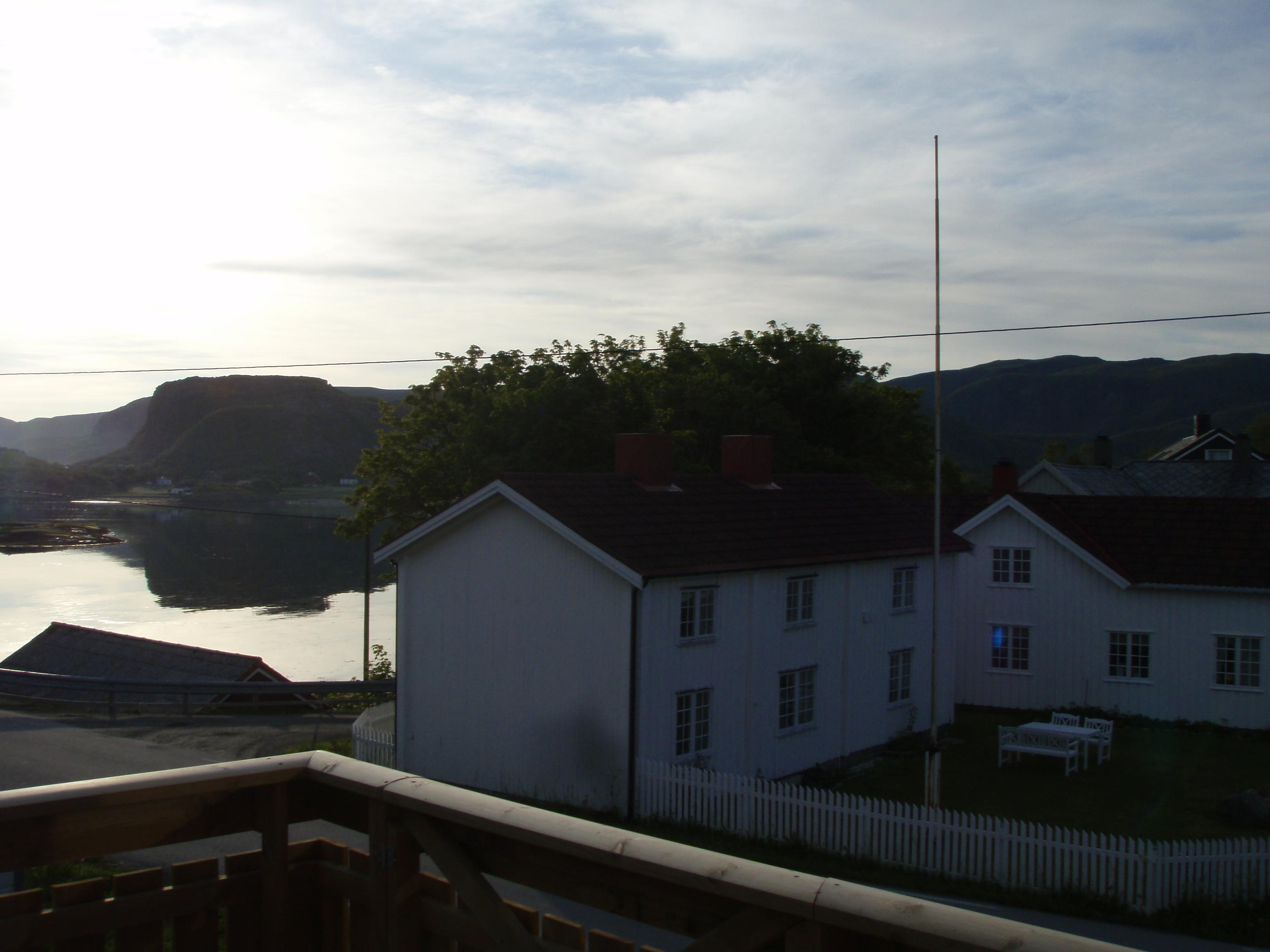 Norwegen Urlaub - traumhafter Ausblick vom Balkon